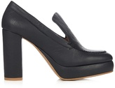 See by Chloe Liza leather platform pumps