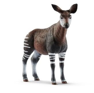 Schleich Hand-Painted Figure Okapi
