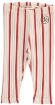 Bobo Choses Striped Organic Cotton Leggings