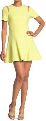 Cinq à Sept Alyssa Shoulder Cutout Mini Dress