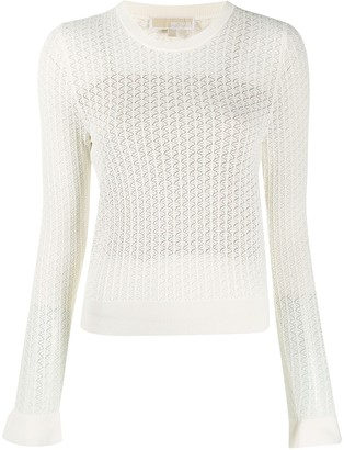 MICHAEL Michael Kors Long-Sleeve Knitted Top