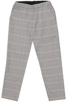 Bonpoint Mikki checked stretch-cotton pants