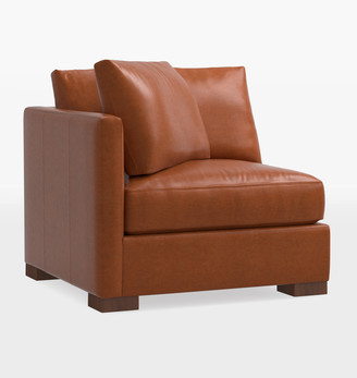 Rejuvenation Wrenton Studio Leather Sectional Left Arm Chair