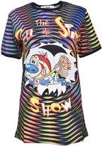 Jeremy Scott Adidas By Ren & Stimpy Print T-shirt