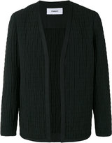 Chalayan collarless jacket