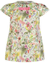 Christian Lacroix Floral Printed Dress