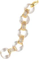 Lucite link bracelet