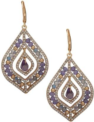lonna & lilly Basic Goldtone Beaded Chandelier Earrings