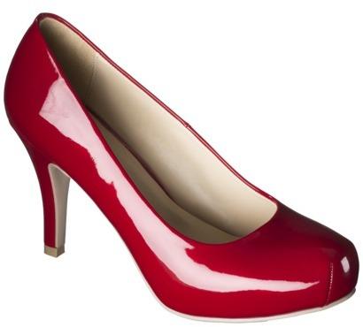 Mossimo Women's Veruca Snub Toe Pumps - Red