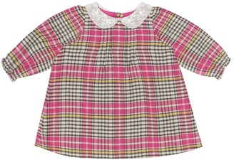 Bonpoint Baby Magnolia checked cotton dress