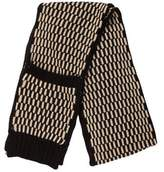 Calvin Klein Metallic Knit Scarf