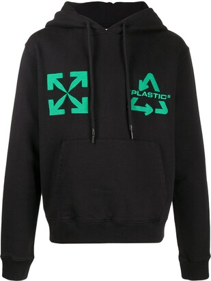 Off-White Universal Key embroidery hoodie