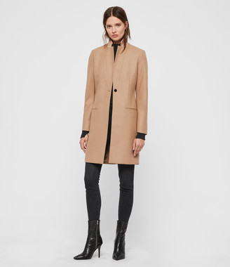 AllSaints Leni Cashmere Blend Coat