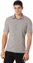 Perry Ellis Short Sleeve Slim Fit Mesh Shirt