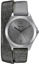 DKNY Women's NY2376 PARSONS Analog Display Analog Quartz Watch