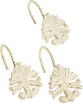 Carnation Home Fashions Fleur Dis Lis Ceramic Resin Shower Curtain Hook