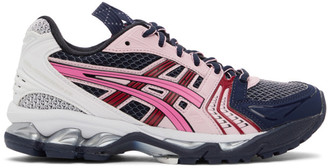 Asics Navy and Pink UB1-S Gel-Kayano 14 Sneakers