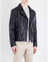Corneliani Leather Aviation Jacket