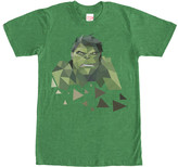 Fifth Sun Men's Tee Shirts KEL - Kelly Heather Pixel Hulk Tee - Men