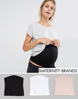 Asos Jersey Bump Band 3 Pack