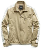 Todd Snyder Satin Racing Jacket in Khaki