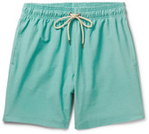Faherty Beacon Mid-length Swim Shorts - Green