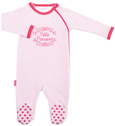 Kushies Fuchsia Dots 'Petite Princess' Side Zip Sleeper - Infant