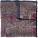Etro double 'Riga' scarf