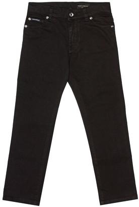 Dolce & Gabbana Kids Stretch denim jeans