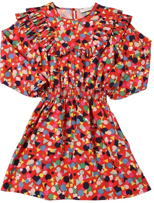 Stella Mccartney Kids Printed Lyocell Dress