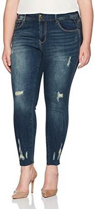 7 For All Mankind Seven7 Women's Plus Size Denim Legging
