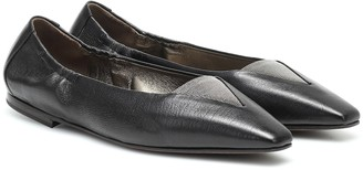 Brunello Cucinelli Leather ballet flats