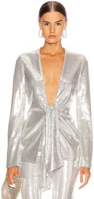 Galvan Ando Jacket in Silver | FWRD