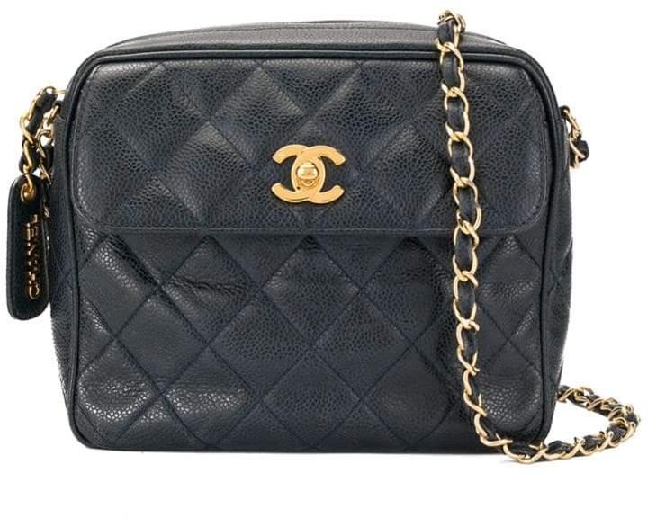 dfd8ff5190983c Chanel Blue Top Zip Handbags - ShopStyle