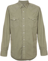 Rrl long-sleeved pocket shirt