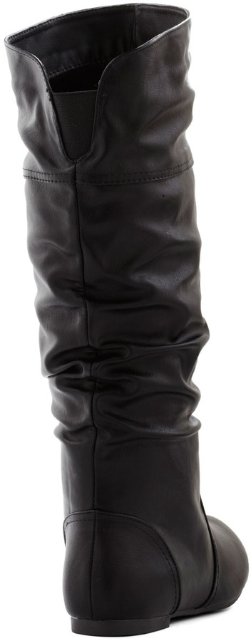 Theater in the Round Boot in Black