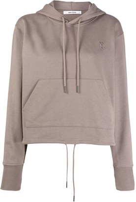 Daily Paper Logo Embroidered Hooded Sweatshirt