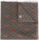 Faliero Sarti logo embroidered scarf