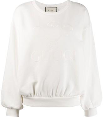 Gucci Oversize sweatshirt with Tennis