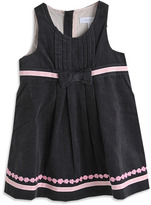 Pumpkin Patch Cord Pleat Front Pinny