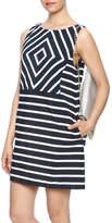 Gala Navy Stripe Dress