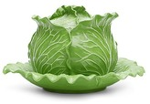 Tory Burch Lettuce Ware Covered Tureen