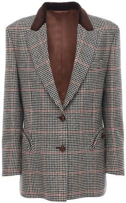 BLAZÉ MILANO Single Breast Wool Blazer