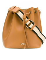 No.21 bucket-style shoulder bag - women - Leather - One Size