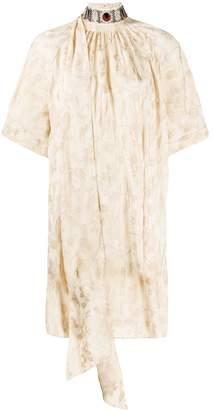 Chloé embellished neck short dress