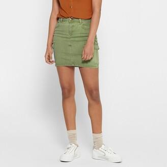 Only Bodycon Mini Skirt