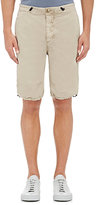 James Perse MEN'S COTTON-BLEND POPLIN MOUNTAINEERING SHORTS