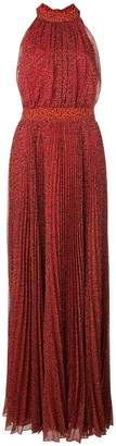 Alice + Olivia Alice+Olivia Kelissa pleated maxi dress
