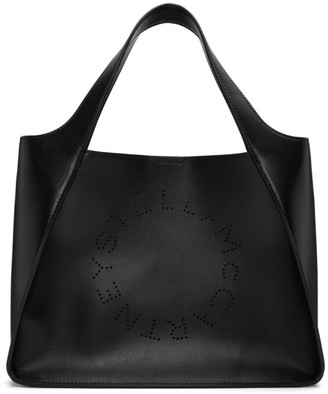 Stella McCartney Black Logo Tote