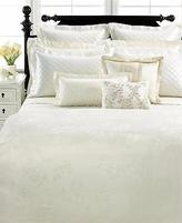 Martha Stewart Collection Matin Duvet Cover Ivory Satin Jacquard Full-queen $265